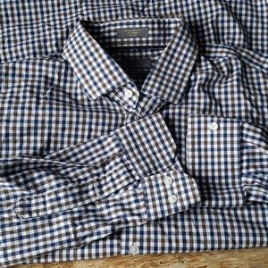 C2 by calibrate button down shirt